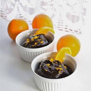 Dark Chocolate And Orange Avocado Pudding.