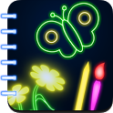 Glow Draw Book icon
