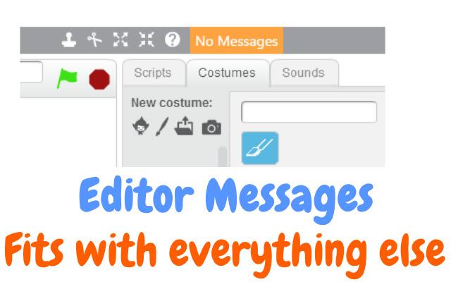 Scratch Editor Messages