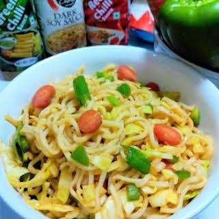 Whole Wheat Noodles Salad.