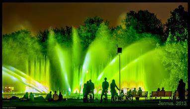 Photo: Hamburg, die grüne Stadt am Abend