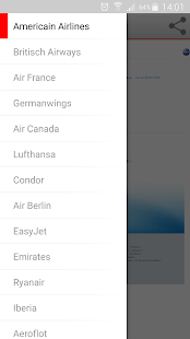 Airline Booking - náhled