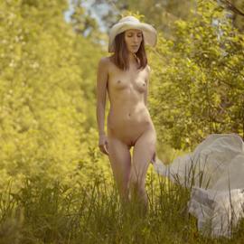 Bright spring by Dmitry Laudin - Nudes & Boudoir Artistic Nude ( spring, beautiful, light, bright, nude, sunny, girl )