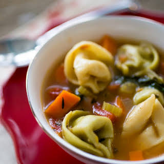 Weight Watchers Tortellini Soup.