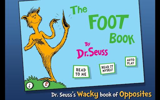 The FOOT Book - Dr. Seuss