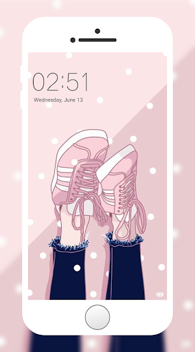 Screenshot for Girly Wallpaper in Hong Kong Play Store