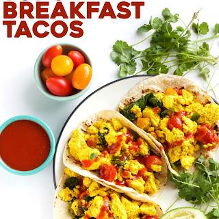 Easy Tofu Breakfast Tacos