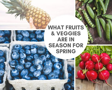 What Fruits & Veggies Are In Season For Spring Recipe