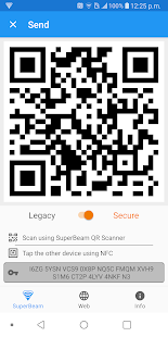 SuperBeam | WiFi Direct Share Capture d'écran