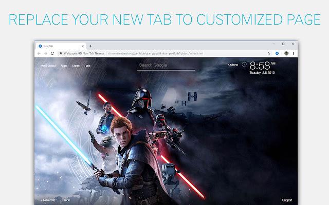 Star Wars Jedi Fallen Order Wallpapers NewTab