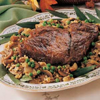 Braised Beef with Barley