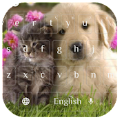 Kawaii Dog and Cat Keyboard