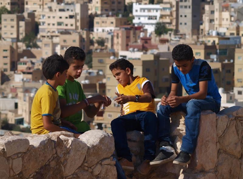 Sulle mura di Amman di Boboparra