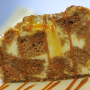 Carrot Caramel Cheesecake