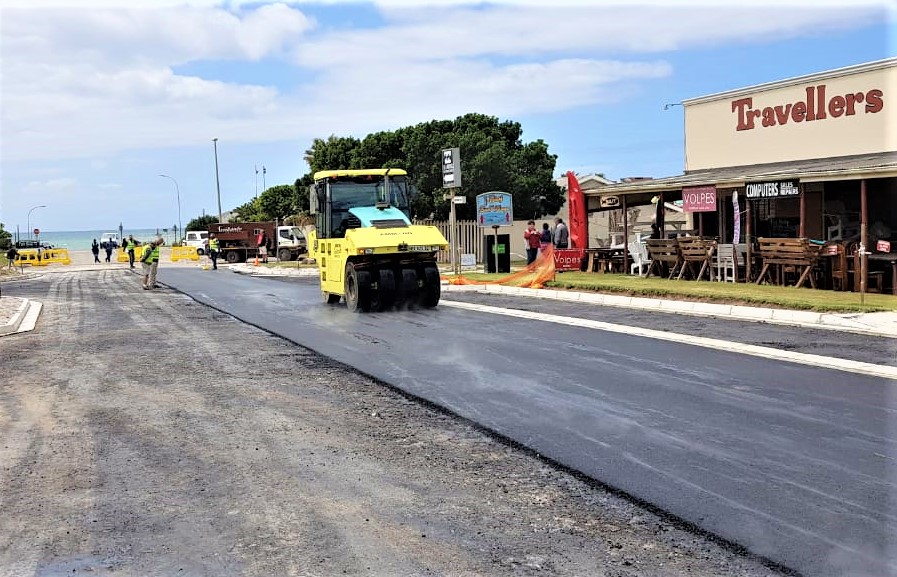 SA's first 'plastic road' opens in Jeffreys Bay - HeraldLIVE