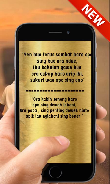 Kata Bijak Bahasa Jawa Yang Menginspirasi Hidup Android