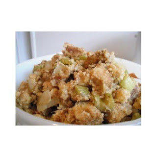 Wheat-Free, Dairy-Free Crockpot Stuffing.