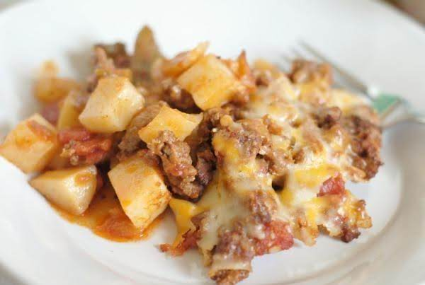 Taco Potato Casserole