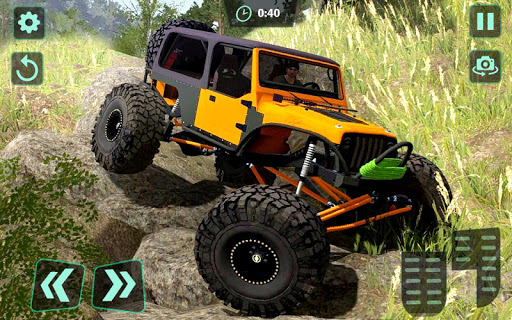 Off-Road 4x4 jeep driving Simulator : Jeep Racing android2mod screenshots 3