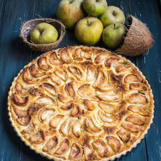 Apple And Coconut Tart