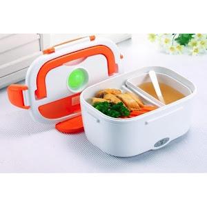 Caserola electrica cu 2 compartimente pentru incalzit alimente