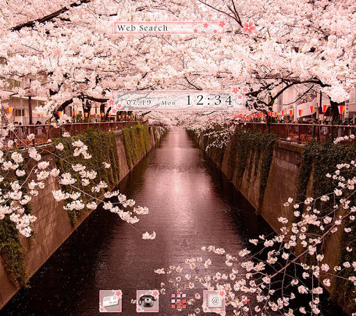 Wallpaper Sakura Arch Theme 1.0.0 Windows u7528 1