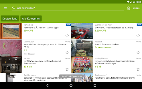 eBay Kleinanzeigen for Germany- screenshot thumbnail