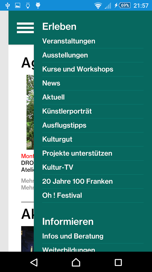 Kultur Wallis – Screenshot