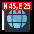 Map Coordinates download