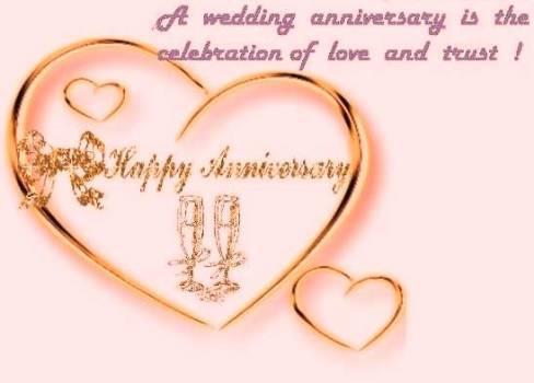 Happy Wedding Anniversary Screenshot