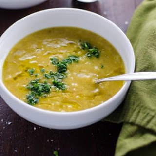 Easy Vegetarian Red Lentil Soup Recipe