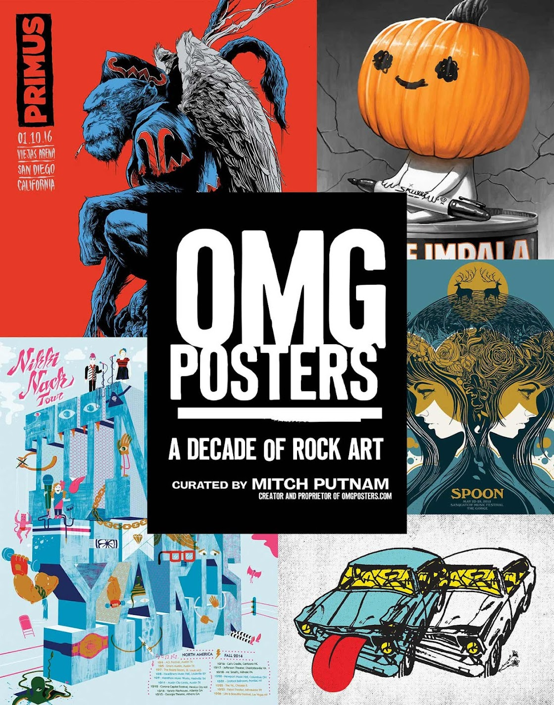 OMG Posters A Decade Of Rock Art