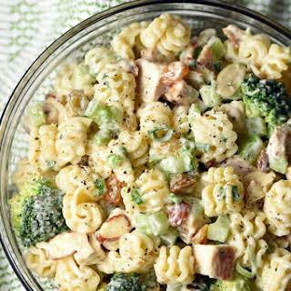 Chicken Broccoli Pasta Salad.