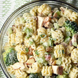 Chicken Broccoli Pasta Salad.