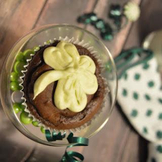 Chocolate Avacado Cupcakes with Avacado Buttercream Frosting