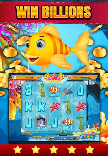 Golden Clown Fish Casino Slots