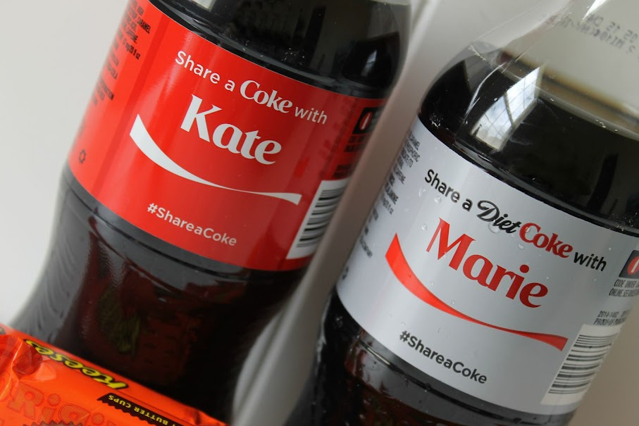 A Coke with their name on it is a great addition to a BFF gift.