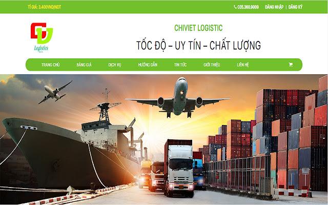 Công Cụ Đặt Hàng Của ChiViet Logistics