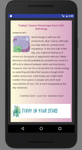 Daily Horoscope for PC