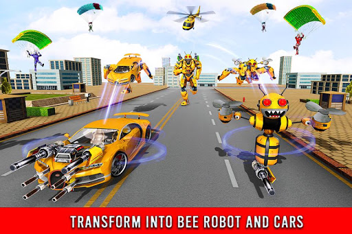 Bee Robot Car Transformation Game: Robot Car Games 1.0.7 screenshots 2