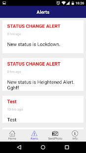 IRIS Alert - náhled