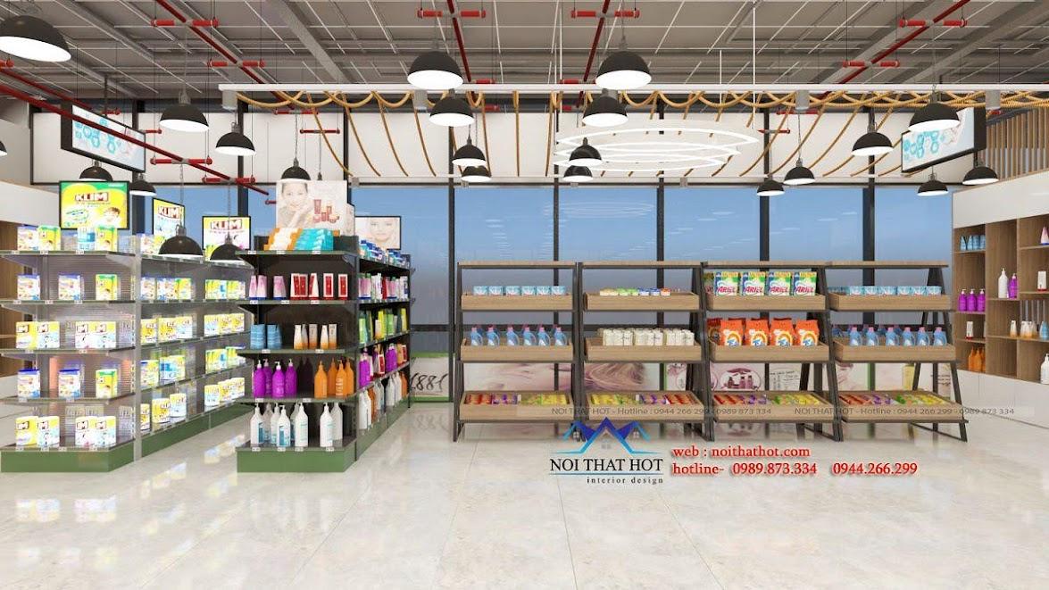 thiết kế quán trà sữa cafe và siêu thị 19