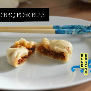BLUE DRAGON STEAMED BBQ PORK BUNS