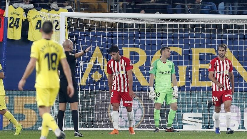 Decepción absoluta con la goleada en Villarreal.
