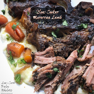 Slow Cooker Moroccan Lamb (Paleo/Whole30).