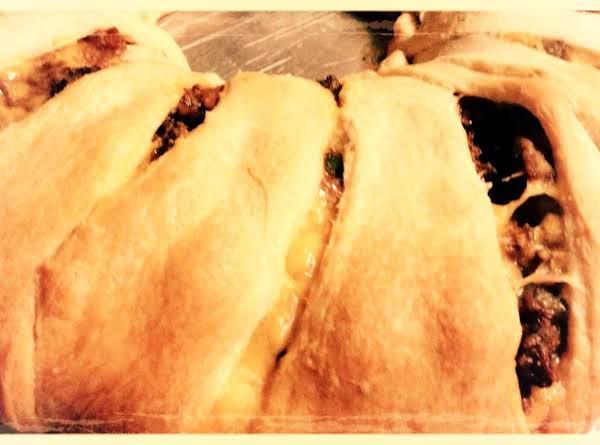 taco ring crescent rolls