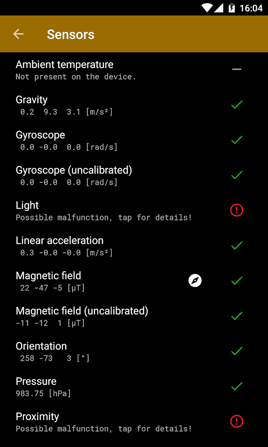GPS Status & Toolbox- screenshot