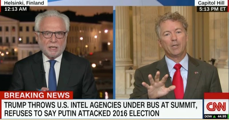 Rand Paul's controversial defense of Trump's relationship with Putin