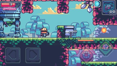 Super Adventure - Pixel Shooting Game APK screenshot thumbnail 3