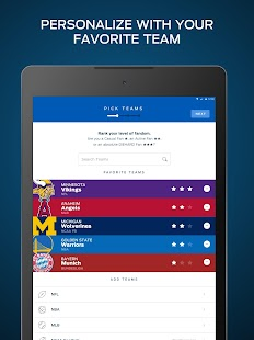 FOX Sports: Live Streaming, Scores, and News Screenshot